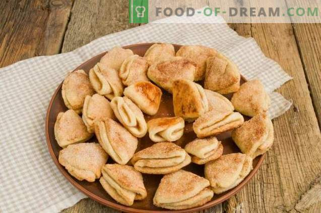 Biscuits au fromage cottage avec cardamome et cannelle