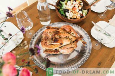 14 formas de hornear el pollo entero en el horno con una corteza crujiente y dorada, una selección de las mejores recetas