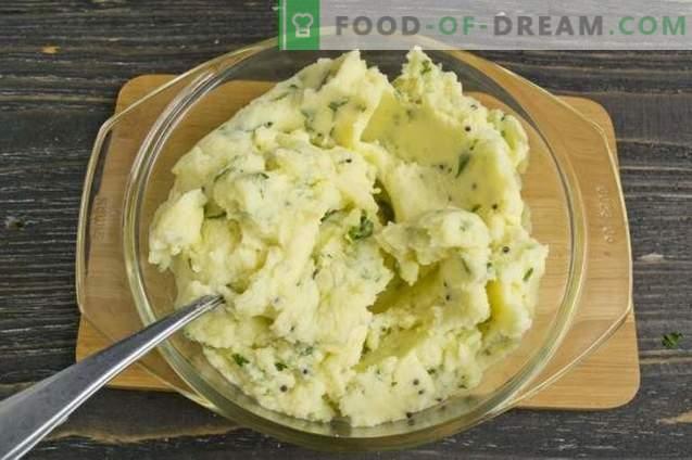 Plată de cartofi cu carne tocată și legume