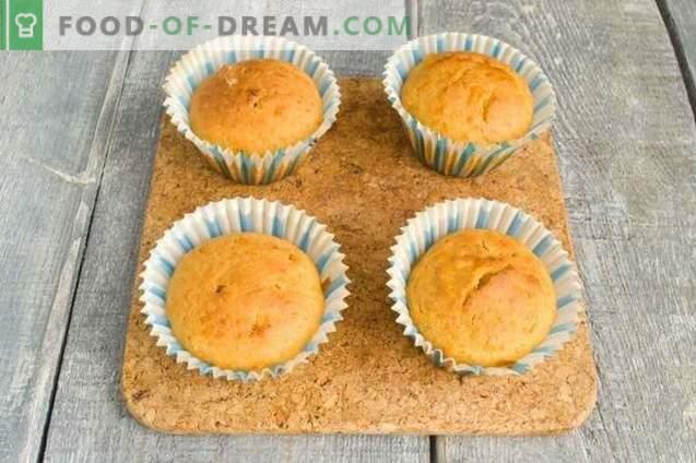 Muffins al cioccolato bianco e zucca