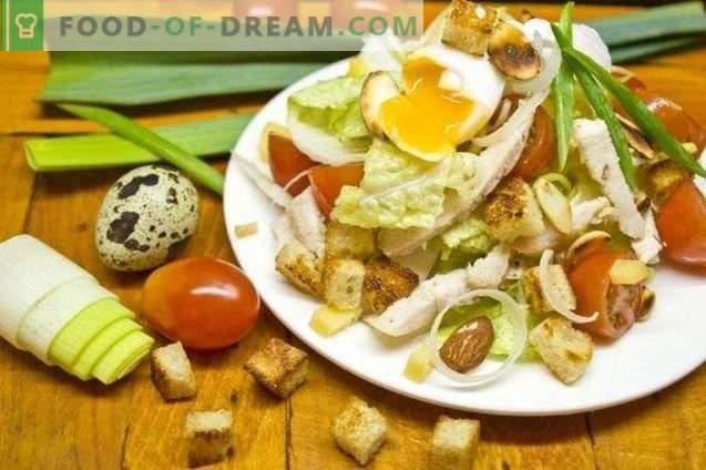 Salată de Caesar
