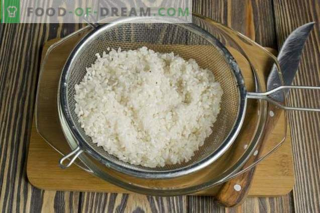 Говедско месо со поркот, оризот, брокулите и карфиолот