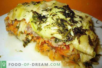 Caserola de squash cu carne tocată, retete pentru vase de dovleac gustoase și ușoare