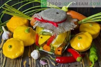 Squash cu morcovi și ardei fierbinți