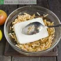 Cheesecakes dietetice cu mere