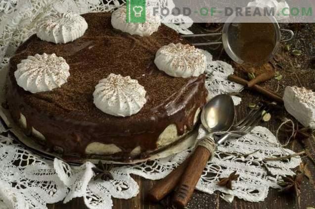 Tort de ciocolată cu marjă de miere