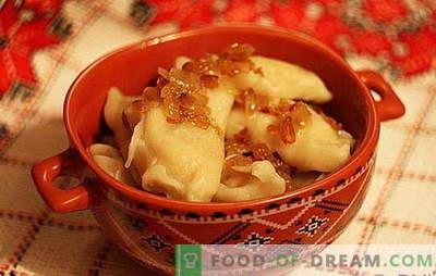 Bolinhos com batatas e repolho: rápido, saboroso e barato. Uma seleção das melhores receitas de bolinhos dietéticos com batatas e repolho