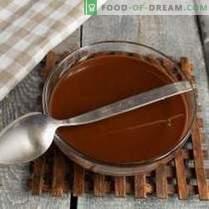 Trufe de ciocolată neagră de ciocolată neagră