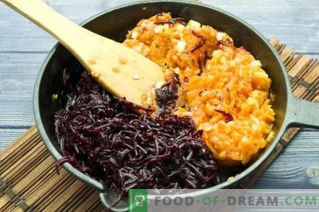 Caviar din sfeclă și morcovi pentru iarnă
