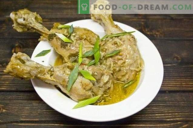 curry au poulet et noix de coco