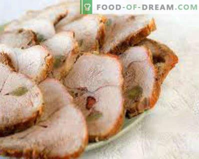 Carne de porc la domiciliu cu rețete de porc