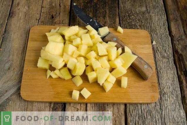Pickle cu orz, castraveți și pui