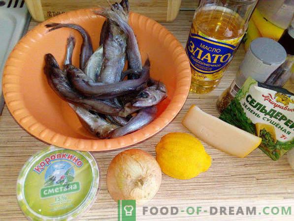 Whiting în cuptor, rețetă sub crustă de brânză