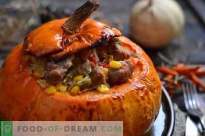 Carne de porc în dovleac mexican