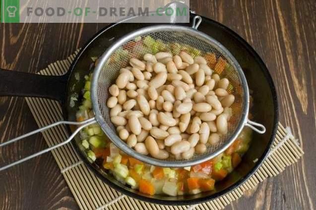 Tufă de legume cu fasole