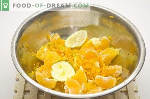 Orange Kurd cu Var și Tangerine