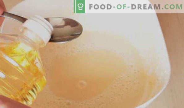Rauginto pieno blynai, stori, ploni, ažūriniai, pūkuoti receptai