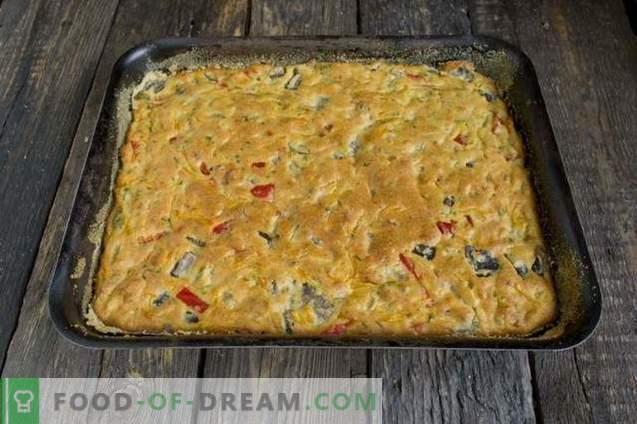Pie cu ciuperci pe kefir