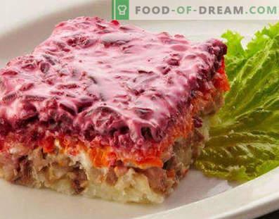 Salate de pește fierte - rețete pentru săptămânile și sărbătorile