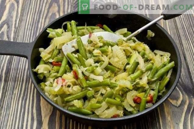Salata de legume stratificata pentru iarna