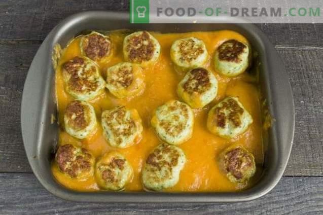 Ciuperci în cuptor cu sos de legume