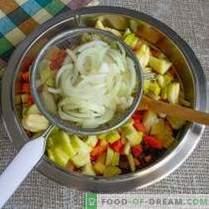 Vinagreta con manzana y chucrut - deliciosa ensalada para ayunar