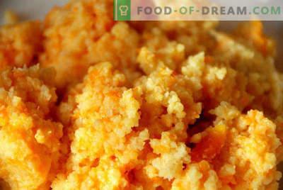 Каша од каша со тиква во бавен шпорет, рецепти со јаболка, месо, сушено овошје, мед