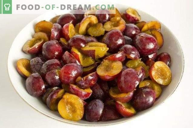 Gem de prune cu ghimbir și anason