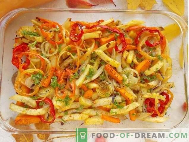 Cartofi cu cuptor cu dovleac și legume