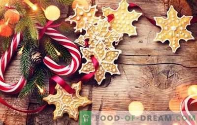 Dulciuri de Anul Nou cu mâinile lor: gustoase, frumoase, festive