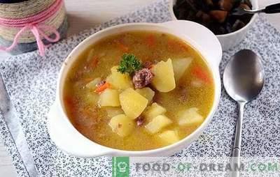 Rețeta clasică pentru cartofi cu conserve de carne: gustul bucătăriei țării sovieticilor. Cum să gătești cartofi banali cu tocană delicioasă: o rețetă pas cu pas cu fotografii