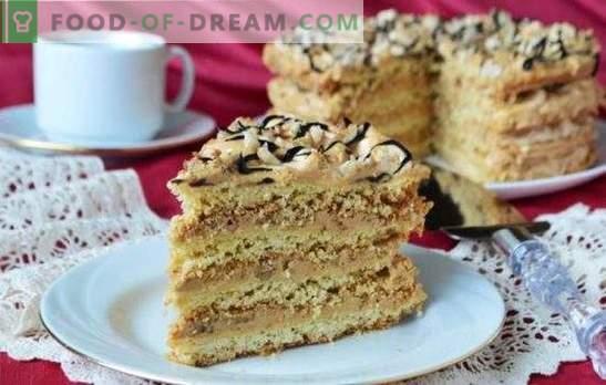 Tort de aer Snickers - desert crocant de meringue! Rețete pentru prăjituri din biscuiți, biscuiți și prăjituri de nisip