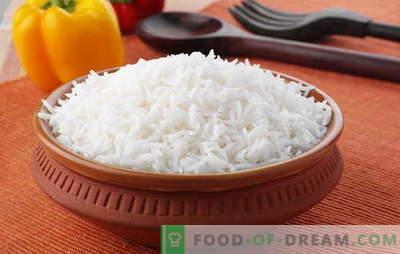 Cum să gătești orezul astfel încât să fie fărâmit. Rețete din orezul liber, secretul de a găti orezul, astfel încât a fost fărâmit
