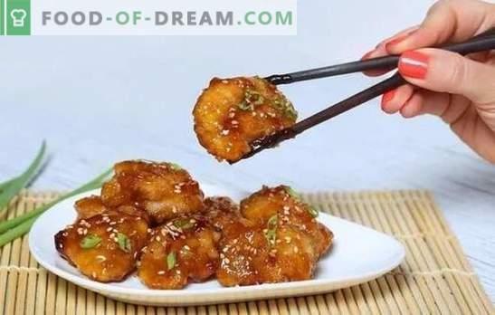 Puiul din sosul de muștar este o pasăre de aur! Rețete pentru pui apetisant în sos de muștar, întreg și în felii