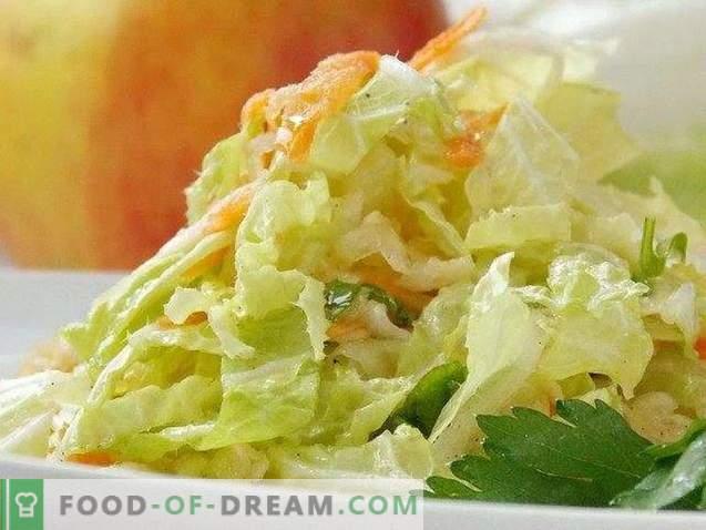 Salata de varză ușoară din Peking