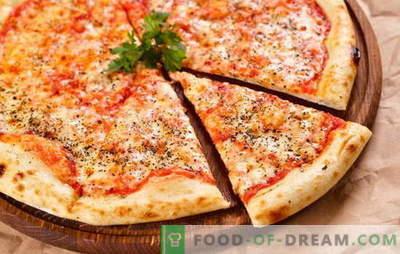 Versiuni originale și variate ale pizza clasică Margherita. Cum sa faci pizza