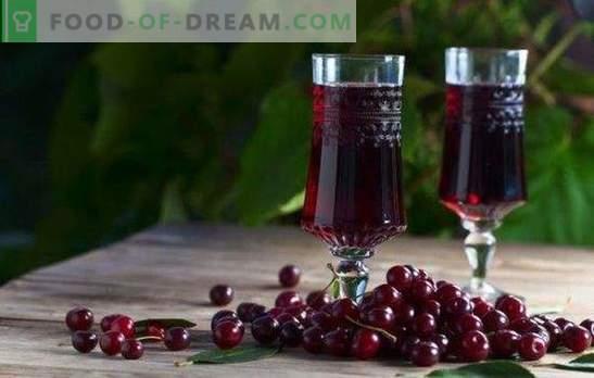 Lichior de cireș acasă - regina rubinică pe masă! Prepararea deliciosului lichior de cireș la domiciliu