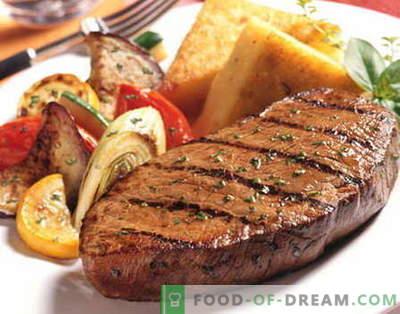 Friptura de vită - cele mai bune rețete. Cum să gătești în mod corect și gustos friptura de vită.