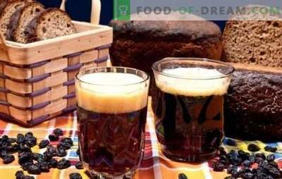 Kvas din pâine neagră - întuneric, inimă, răcoritoare! Rețetă pentru quass pe pâine neagră fără drojdie