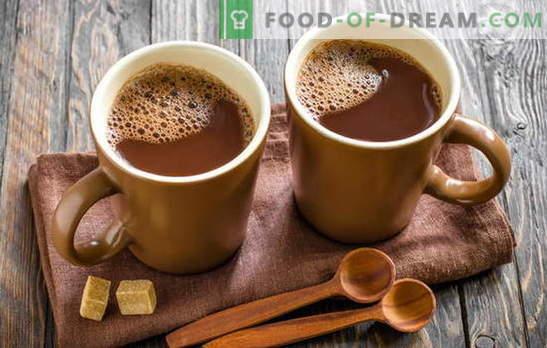 Gatiti cacao - facem casa noastra fericita! Cum să gătești cacao în lapte, din pudră, cu lapte condensat, cu miere, cu scorțișoară și marshmallows