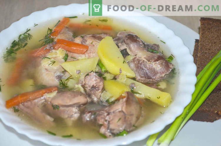 Supă cu dulce de găină, sau cum să gătești supa Gleb Zheglov - o rețetă