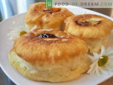 Rezepte für Pfannkuchen mit Sauermilch, flauschige Pfannkuchen aus Sauermilch