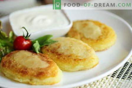 Zrazy de cartofi - cele mai bune retete. Cum să gătești corect și gustos gătire de cartofi.
