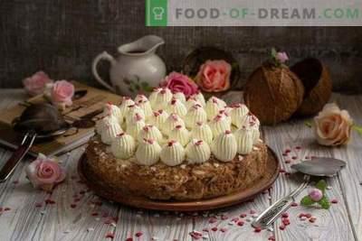 Tortul de nucă de cocos Kuchen - plăcere cerească