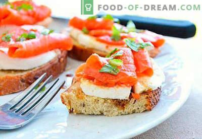 Sandwich-urile festive sunt cele mai bune rețete. Cum să gătesc rapid și gustos sandwich-uri festive.