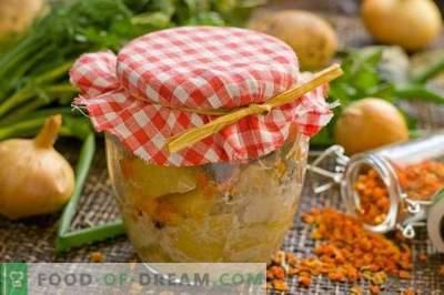 Cartofi conservați - pui și cartofi