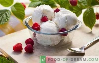 Înghețată: o rețetă pas cu pas pentru tratamentul favorit al tuturor. Inghetata, ciocolata, banana si inghetata de branza de vaci (pas cu pas retete)