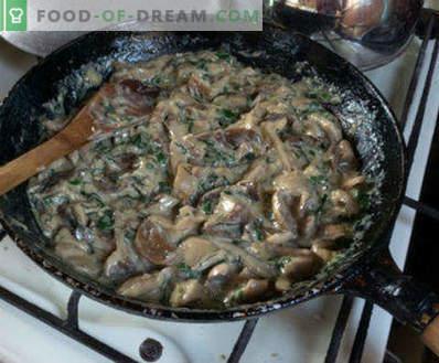 Unturi prăjite cu cartofi, rețete de gătit