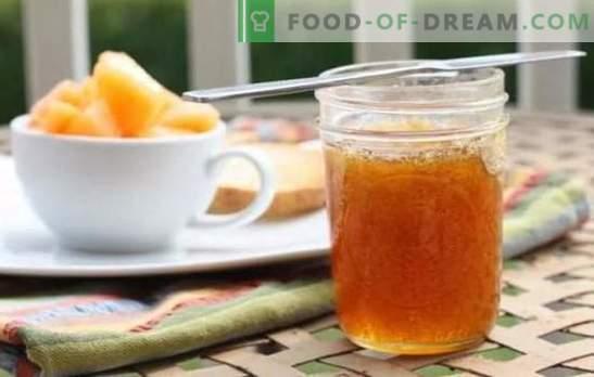 Blocaj de pepene galben: rețete simple pentru desertul original. Cum sa faci gem de pepene galben delicios pentru iarna, cu mere, cu lamaie: retete