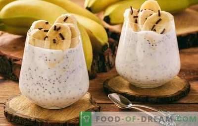 Desert de banane - 100% plăcere tropicală. Rețete de desert cu aromă de banane: creați o dispoziție însorită!